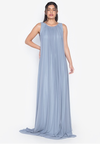 Tantease grey Ynes Evening Dress 1C997AA80F53D3GS_1