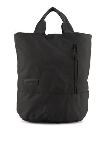 ESPRIT black Grainy Rucksack 4F298AC2D822A5GS_1