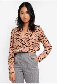 Psst... we have already received your request. TOPSHOP. Satin Pyjama Style  Shirt fa22e4436