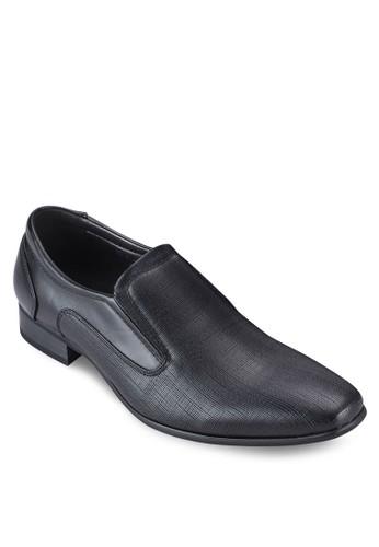 方頭懶人商務皮鞋esprit outlet台北, 鞋, 鞋
