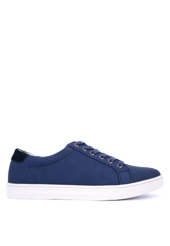 BENCH blue Lace Up Sneakers 909C3SH0BA68E7GS_1
