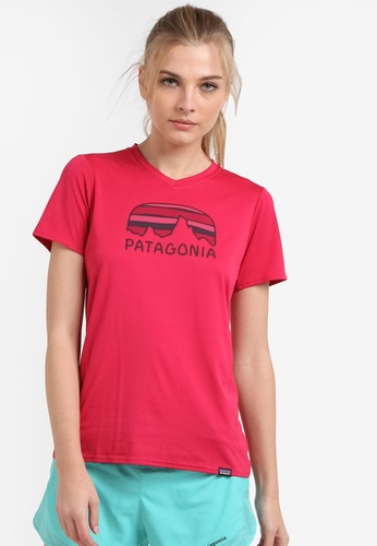 Patagonia pink Cap Daily Graphic T-Shirt PA549AA0RQBXMY_1