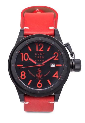 Deltesprit門市地址a 復古皮革圓錶, 錶類, 休閒型