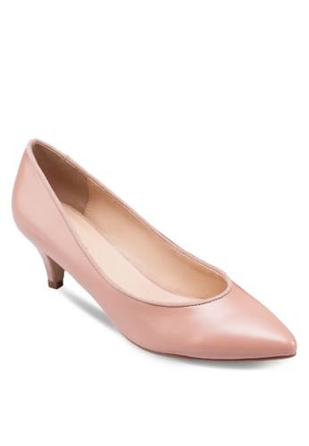 zalora 手錶閃飾尖頭細跟鞋, 女鞋, 鞋