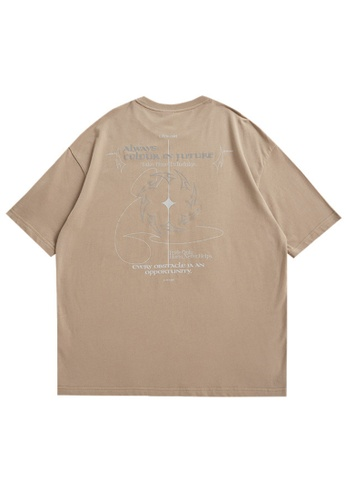 Twenty Eight Shoes Reflective Printed Short T-shirt 5406S21 B5499AA5115087GS_1