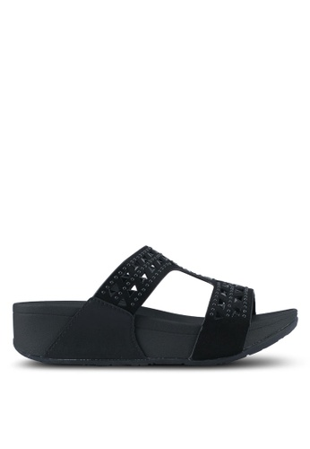 VINCCI black Strappy Sandals VI831SH0SY3LMY_1