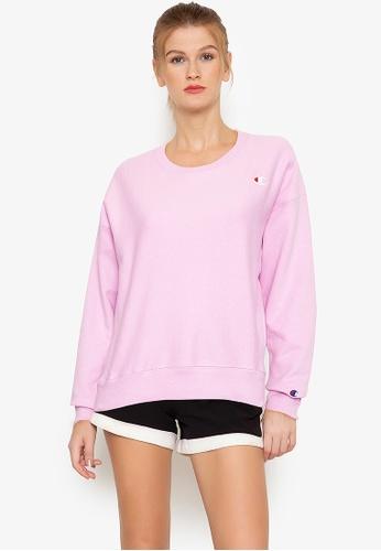 Champion pink Reverse Weave Crew 55784AA3CD9983GS_1
