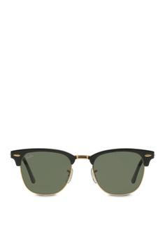 f9805d8a0ef Ray-Ban Clubmaster RB3016 Sunglasses RA370GL62RZLSG 1