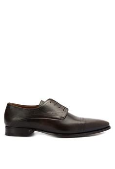 66b347f2805 A. Testoni brown Men s Casual Dress Shoes Longwing Brougues AT299SH0K4C1PH 1
