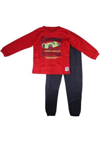 Babybol red Children Pyjama 959CAKA3C44263GS_1
