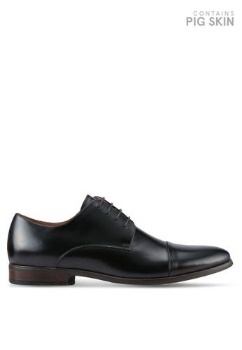 Dune London black Natural Sole Toecap Gibson Shoes DU588SH0RK6DMY_1