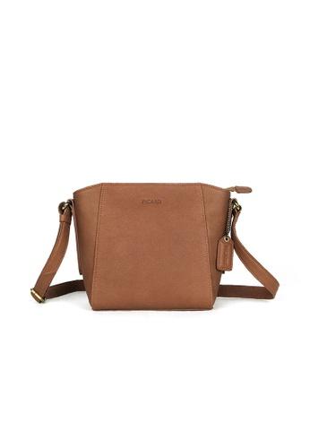 1e56c265079af Picard orange Picard Buffalo Sling Bag in Tan-Orange 6A8C8AC9A350A6GS 1
