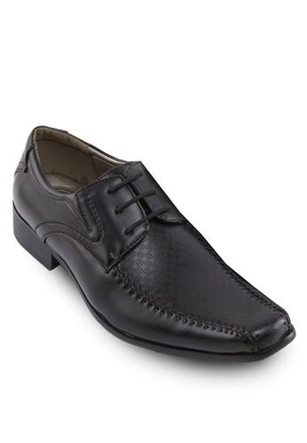 暗紋繫帶紳士皮鞋, 鞋, 休閒esprit官網鞋