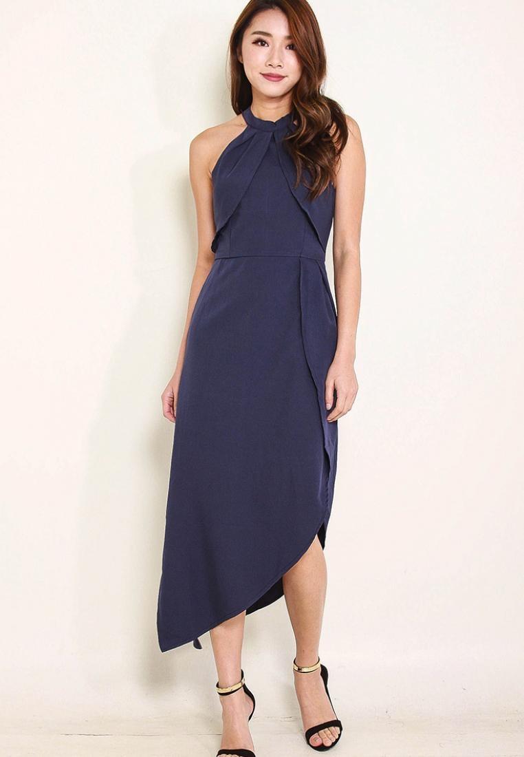 Blue Bautrice Style Dress Bautrice Style Dress Leline Blue Leline 66wqrBx
