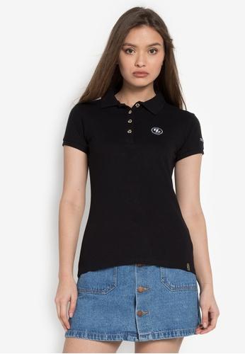 RRJ black Short Sleeves Strike Series' I Am Striker Classic Polo Shirt RR205AA0KEZ5PH_1