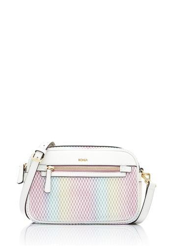 Bonia White Ithaa Sling Bag S