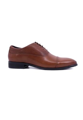 Hanson Bootmaker brown Hanson Bootmaker Oxford Lace Up- Tan HA656SH0GHVWSG_1