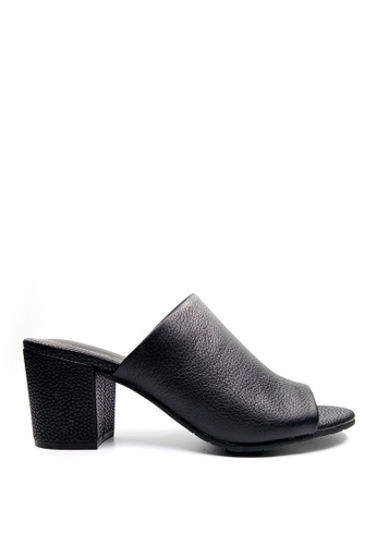 Kenneth Cole New York black MASS-TER MIND - Open-toe Mule 9653ESH1CD557BGS_1