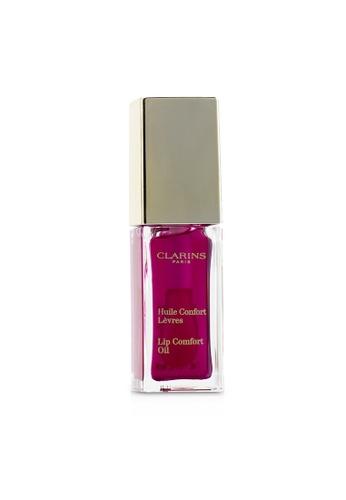 Clarins CLARINS - Lip Comfort Oil - # 02 Raspberry 7ml/0.1oz 800FEBE96B07ABGS_1