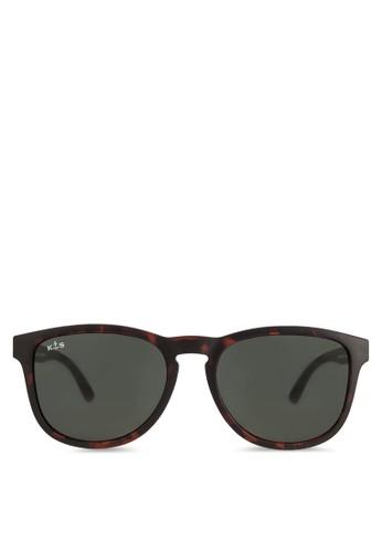 Soho 玳esprit門市地址瑁方框太陽眼鏡, 飾品配件, 飾品配件
