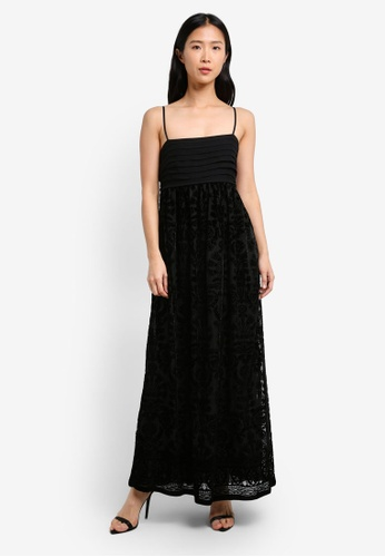 Max Studio black Sleeveless Long Dress MA703AA0RWGYMY_1