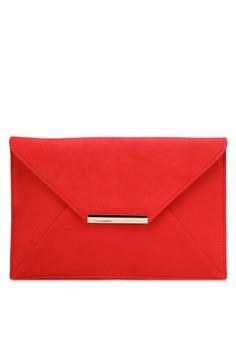 【ZALORA】 Red Envelope Clutch