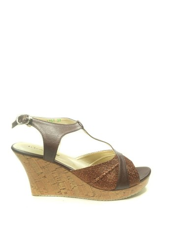 Beauty Shoes brown Beauty Shoes 1250 Wedges Brown 9A480SH4772165GS_1