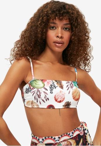 Trendyol multi Patterned Bikini Top ABEE0US6783DB8GS_1