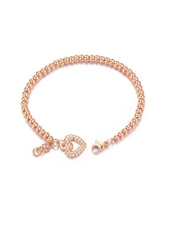 ADORA Stainless Steel Heart Bracelet EEE7DACBB45D0EGS_1