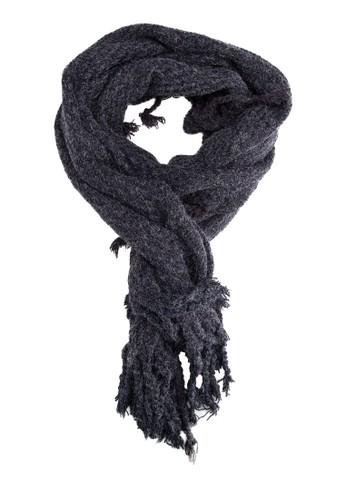 流蘇冬裝圍巾, 飾品配件esprit台灣網頁, 飾品配件