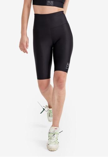P.E Nation black Endurance Shorts 10DA0AA3840110GS_1