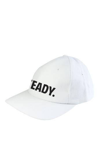 HYPE MNL white Steady Baseball Cap AF8C2AC2D2DF1CGS_1