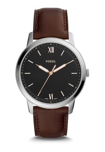 Fossil brown The Minimalist Watch FS5464 FD175AC14F483FGS_1