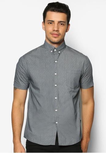 Vosch 短esprit taiwan袖襯衫, 服飾, 印花襯衫