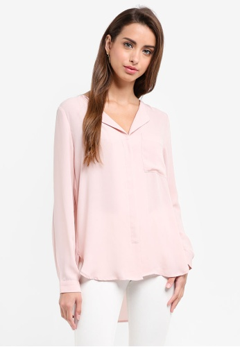 Selected Femme pink Dynella Shirt 00872AA140B1D2GS_1