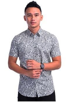 4c4661fb9e UA BOUTIQUE grey Short Sleeve Shirt Batik SSB105-061 (Grey)  FEF72AA7AA6CFCGS_1