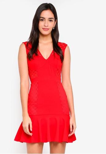 TFNC red Zallia Mini Dress 09B92AA2644815GS_1