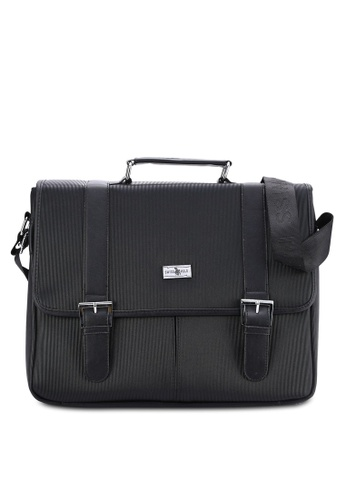 Swiss Polo black Swiss Polo Messenger Bag SW912AC12PITMY_1
