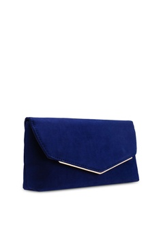 eede93d0fe 31% OFF Dorothy Perkins Navy Metal Bar Clutch RM 79.00 NOW RM 54.90 Sizes  One Size