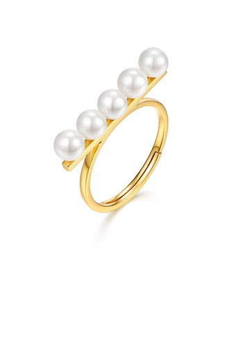 SUNSET gold Premium 9K Gold Pearl Ring D7984AC428E19AGS_1