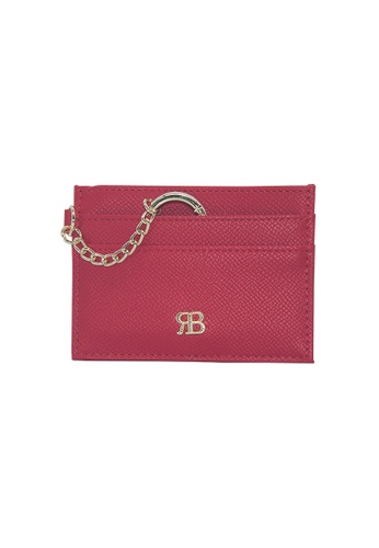 Bethany Roma red Bethany Roma Card Holder Key Chain - Red A6AACAC6E9484DGS_1