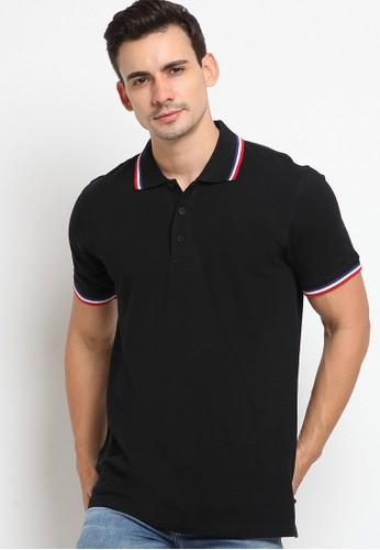 Police Denim black Comfort Polo Shirt 0A322AA94241DCGS_1