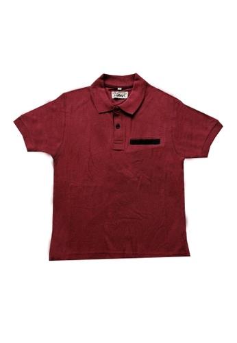 KAMDAR red Boys Polo T/shirt 0B7B9KA2B14E26GS_1