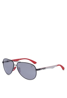 ddd3d4e8c1f Ray-Ban black Ray-Ban Scuderia Ferrari Collection RB8313M Sunglasses  BF3C9GL3F326BEGS 1