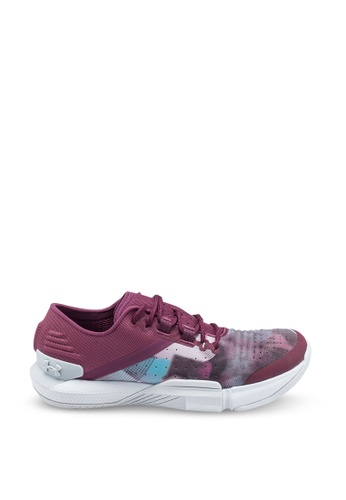 Under Armour purple UA W TriBase™ Reign Shoes FFAE1SH264399CGS_1