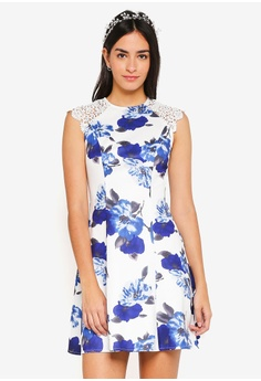 ZALORA multi Bridesmaid Fit And Flare Dress 9402BAA9AF05B2GS 1 b125d2ddd