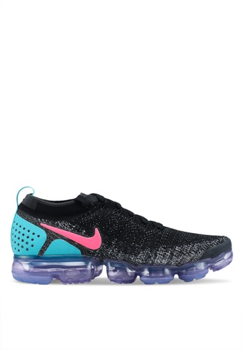 Nike black and white Nike Air Vapormax Flyknit 2 Shoes E0F1ESH3E9D2D3GS_1