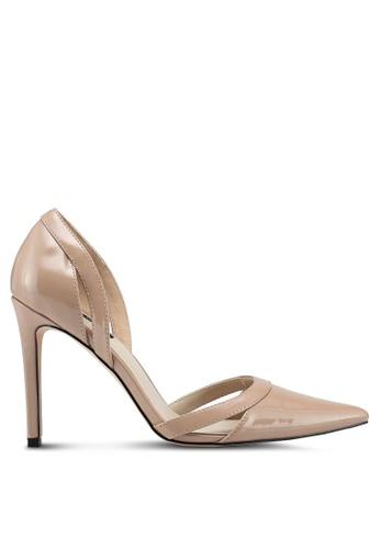 ZALORA beige Classic Heels 3F76ESHB11731BGS_1
