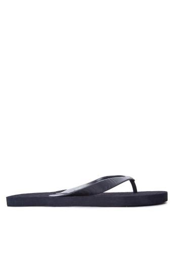 BENCH black Basic Rubber Slippers BE550SH91LQIPH_1