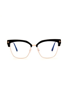 2edc72a8e618 Tom Ford black and gold TOM FORD FT5547-B 001 Eyeglasses B0F42GL265C544GS 1